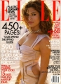 Eva Mendes on the Elle cover