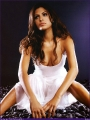 Eva Mendes wearing fantastic white dress