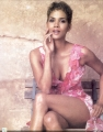 Halle Berry wearing beautiful spring dress