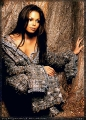 Janet Jackson wearing great dress