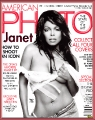 Janet Jackson on the American Photo cover