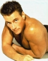 Jean Claude Van Damme posing sexy