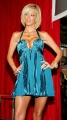 Jenna Jameson wearing amazingly hot dress