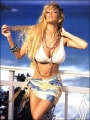 Jenna Jameson wearing incredibly hot bikini