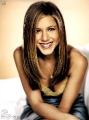 Cute Jennifer Aniston smiling in nice dress