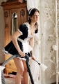 Jennifer Aniston as a maid