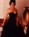 Jennifer Connelly in beautiful black dress  with nice neckline