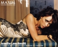 Jennifer Love Hewitt wearing sexy lingerie on the Maxim pictorial