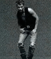 Sexy Jeremy Jordan posing hot