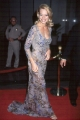 Jeri Ryan wearing beautiful dress