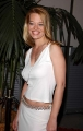 Jeri Ryan wearing white shimmy