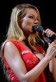 Jewel Kilcher singing on concert