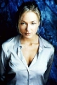Jewel Kilcher posing in sexy shirt