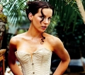 Kate Beckinsale wearing sexy corset