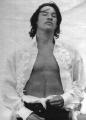 Keanu Reeves posing sexy