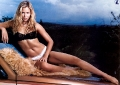 Kristanna Loken posing in very hot lingerie