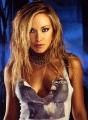Kristanna Loken wearing terminator blouse