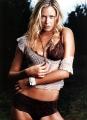Kristanna Loken wearing sexy linerie