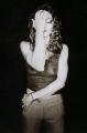Madonna posing topless