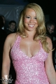 Maria Carrey wearing pink hot dress