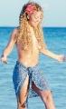 Maria Carrey posing topless