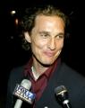 Matthew McConaughey posing sexy