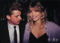 Maxwell Caulfield looks sexy with girlfriend