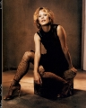 Meg Ryan posing in hot tights