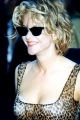 Meg Ryan wearing hot dress with plunging neckline