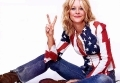 Meg Ryan in a patriotic shirt