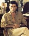 Mel Gibson posing sexy