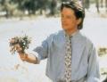 Michael J. Fox posing sexy