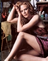 Nicole Kidman posing in sexy dress showing hot legs