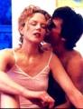Nicole Kidman posing in sexy shimmy