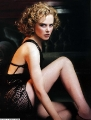 Nicole Kidman posing in extremally hot lingerie