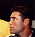 Oscar De La Hoya posing hot