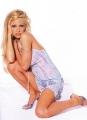 Pamela Anderson posing in gorgious lingerie
