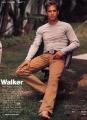 Paul Walker posing sexy
