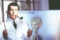 Pierce Brosnan looks hot with pipe