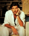 Pierce Brosnan posing hot
