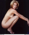 Rachel Hunter posing nude