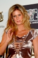 Rachel Hunter wearing great dress