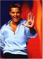 Ricky Martin posing nude