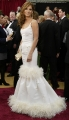 Sandra Bullock wearing beautiful white dress