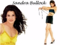 Sandra Bullock on wallpaper