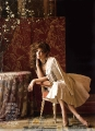 Sandra Bullock posing in glamorous dress