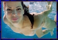 Sandra Bullock swimming naked under water