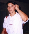 Santiago Hernan Solari posing sexy