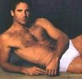 Sexy Scott Bakula posing shirtless