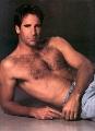 Hot Scott Bakula posing shirtless